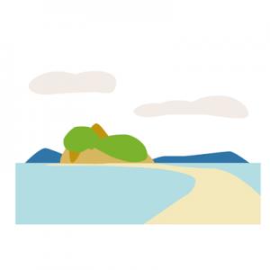 小豆島定番旅行と穴場エンジェルロード400