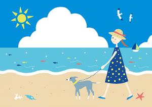 関西近郊、兵庫県淡路島etcで愛犬と一緒にカヌー体験が楽しめる、予約できるところがすぐ分かるようにした一覧ページへのリンク集と、おすすめの関西地区「愛犬とカヌー、カヤック」、利用・予約方法などを人気アクティビティ体験予約サイトから簡単にまとめてみました。犬関西カヌーイラスト2-400