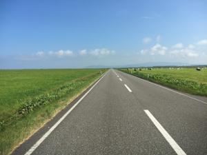 エヌサカ線北海道夏のドライブ穴場400